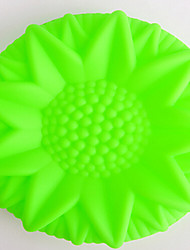 DIY Silicone Sun  Flower Cake Mold Chocolate Mold   Random Color