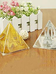 torre de ouro no cristal óleo h2511 a Torre Eiffel em Paris