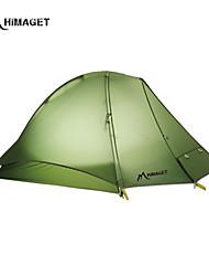 HIMAGET Brand 1 Person Tent  DAC Pole YKK Zipper 1.0Kg Professional Alpine Mountaineering  Ultralight Camping Tent