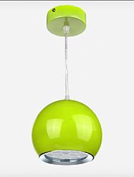 7W LED Bar Droplight Apple Shape Dining Room Light LED Pendant Lights AC85-265v