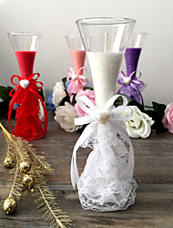 Wedding Party Decorations - 1Piece/Set Piece/ The Candle Of The /White / Red / Pink / Purple