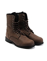Men's Shoes Casual  Boots Black / Brown