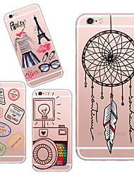 rêves maycari®catching retour TPU de cas mou transparent pendant 5s iPhone5 / iphone (couleurs assorties)