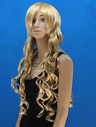 Europa en de Verenigde Staten de nieuwe pruik dame lang krullend gouden haar geneigd zijn bang pruik