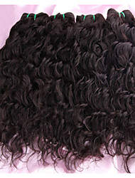 Peruvian Virgin Hair With Closure 3pcs Lot Peruvian Water Wave Hair Bundles with 1 Lace Closures