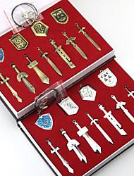 Bijoux Inspiré par The Legend of Zelda Cosplay Anime/Jeux Vidéo Accessoires de Cosplay Colliers Doré / Argenté Alliage Masculin / Féminin