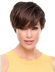 Hot Selling Lady Wigs Mixed Color Synthetic Hair Wigs