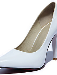 Women's Wedding Shoes Pointed Toe Heels Wedding / Party & Evening / Dress Black / White / Burgundy