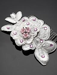 Women's / Flower Girl's Headpiece - Wedding / Special Occasion / Outdoor Hair Combs 1 Piece