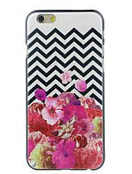 Pour Coque iPhone 6 / Coques iPhone 6 Plus Motif Coque Coque Arrière Coque Fleur Dur Polycarbonate iPhone 6s Plus/6 Plus / iPhone 6s/6