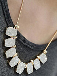 Women's Choker Necklaces Alloy Drop Gray Dark Gray Jewelry Wedding Party Daily Casual 1pc