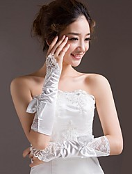 Elbow Length Fingerless Glove Bridal Gloves
