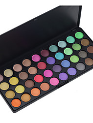 Hot 40 Color Palette Mixed Matte Pearl Eye Shadow