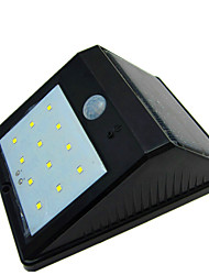 High Quality Waterproof Solar 12 LED Light Human Body Induction Lamp / Wall Lamp / Garden Courtyard Balcony Outdoor Lamp
