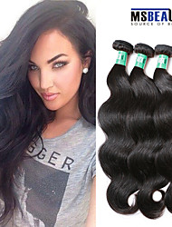 "3Pcs/Lot 8""-30"" 5A Virgin Indian Hair Body Wave Human Hair Weaves"