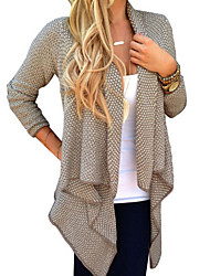 Women's New Fashion Dot Print Long Sleeve All Match Cardigan