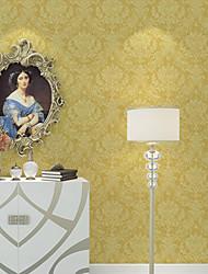 Floreale Carta da parati Contemporaneo Rivestimento pareti , Carta Damascus 3D Wallpaper