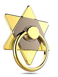 hoco® cph05 telefone hexagrama anel de luxo mini-portátil de 360 graus titular roating stent b estilo para o telefone móvel