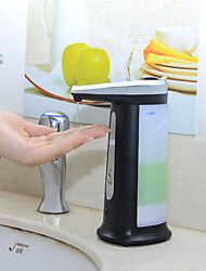 Automatic Touch-Free Soap Sanitizer Dispenser w/ Musical Chime - Black (4 x AAA)