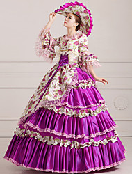 Steampunk®Georgian Purple Victorian Party Ball Gown Marie Antoinette Wholesalelolita Rococo Princess Prom Dresses