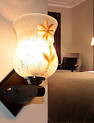 E27 15*12CM 10-15㎡Solid Wood Creative Ikea Wall Lamp Of Bedroom The Head Of A Bed Led Lights