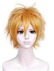 12inch naruto-uzumaki naruto peruca loira anime cosplay qy-034
