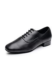 Sapatos de Dança (Preto / Branco) - Homens - Não Personalizável - Latim
