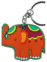 Lucky Elephant KeyChain Baby Shower Favors, Baptism Souvenirs