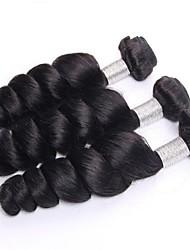 Cabelo virgem onda solta 3 feixes brasileira brasileiro do cabelo humano 7a cabelo virgem não transformados virgem cabelo brasileiro