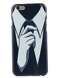человек, который играет галстук. высокое качество и хорошая цена картины жесткий футляр для iPhone 6 / 6с