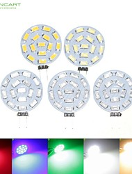 8W G4 Spot LED MR11 15 SMD 5630 700-900 lm Blanc Chaud / Blanc Naturel / Rouge / Bleu / Vert Gradable DC 12 / AC 12 / AC 24 / DC 24 / 9-30