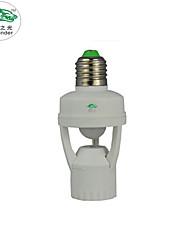 Zweihnder®110V-240V Mini Infrared Body Sensors E27 Large Screw Bulb Socket For All Lamps