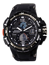 SANDA 50 m Waterproof, Japan Movement And Battery, Dual Time Zone Display, Leisure, Sports Watch Cool Watch Unique Watch