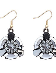 Fantasy Crystal Flowers Cute Simple And Stylish Korean Jewelry Earring