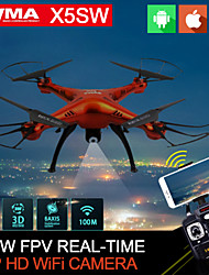 SYMA X5SW WIFI RC Drone Quadcopter with FPV Camera Headless 6-Axis Real Time RC Helicopter