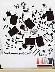 Simple Black And White Photo Wall Stickers