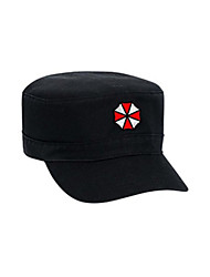 Hut/ Mütze Inspiriert von Cosplay Cosplay Anime/ Videospiel Cosplay Accessoires Flügelärmel / Hut Schwarz Mann / Frau