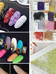 (1000 Stars / Bags) Micro Drill Tip At The End Of Japanese Popular Micro Diamond 12 Colors Manicure High-Grade Jewelry