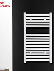 AVONFLOW® 800x450 Bath Towel Rack, Bathroom Wall Heaters, White Towel Rail AF-SE