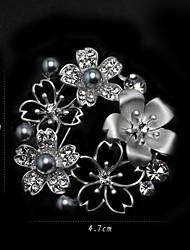 Women's Alloy Brooch Silver