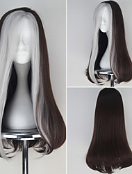 Cosplay Wigs Super Heroes Movie Cosplay Black Patchwork Wig Halloween / Christmas / New Year Female