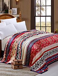 Recommend Blanket Luxury Style Striped Throws and Super Soft Sofa Plaid For Home High Quality