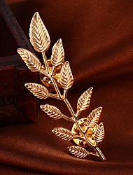 Fashion Elegant Leaves Alloy Noble M's Brooch For Woman&Lady