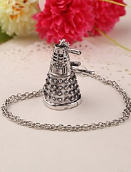 Movie Acc Robot Pendant Necklace