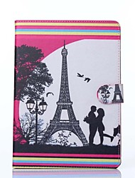Love Pattern PU Leather Full Body Case with Stand for iPad Air 2/iPad 6