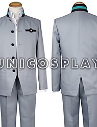 Seraph of the End Owari No Serafu Yuichiro Hyakuya School Uniform Grey Outfit Cosplay Costume