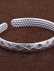 fashion zandstralen diamond dot nagel kraal tegenhanger duizend mooie zilveren armband
