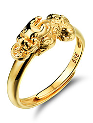 Ms 18 K Gold Mythical Wild Animal Ring