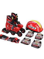 Ferrari Kids Skate Combo Set M Suitable for 33-36