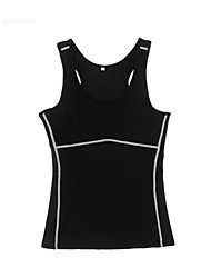 Bike/Cycling Vest/Gilet / Tops Women's Breathable / Quick Dry / Sweat-wicking Black S / M / L / XL / XXL Yoga